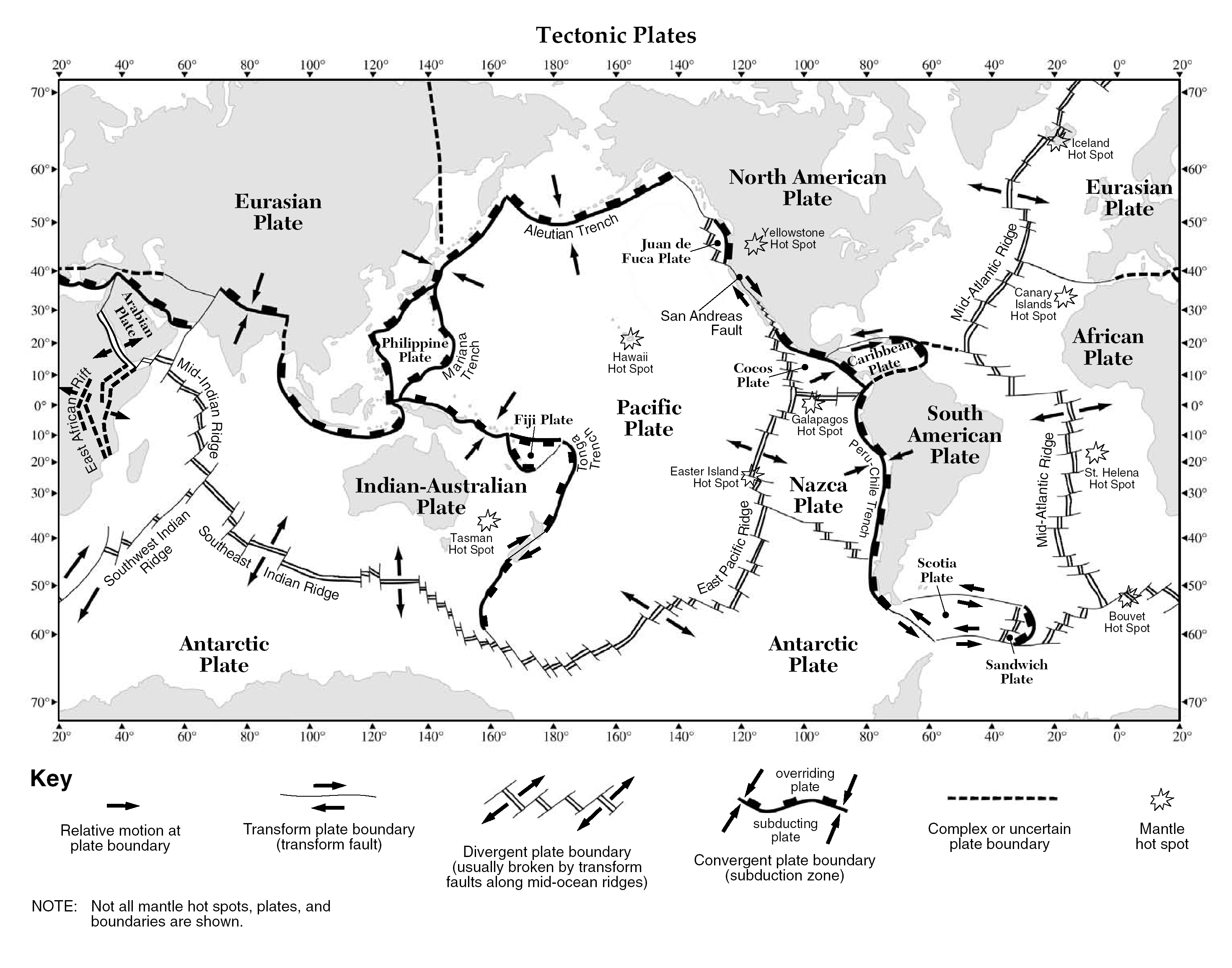 Uncategorized Plate Tectonics Worksheets plate boundaries worksheet answers termolak tectonic delibertad