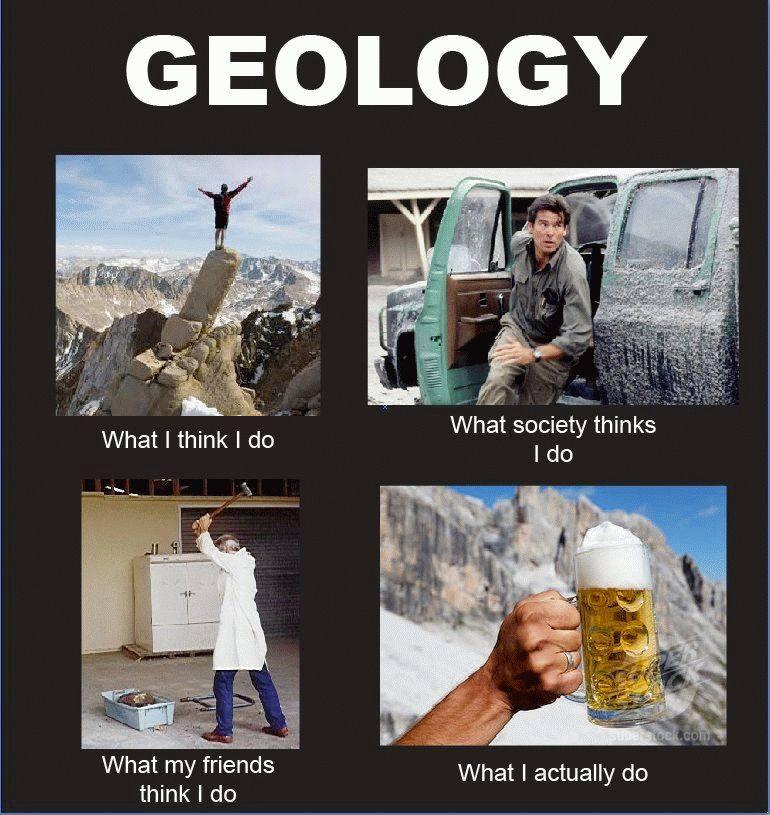 Humour Géologie : Géologues