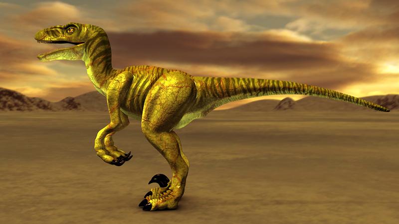 velociraptor painting related keywords - photo #12